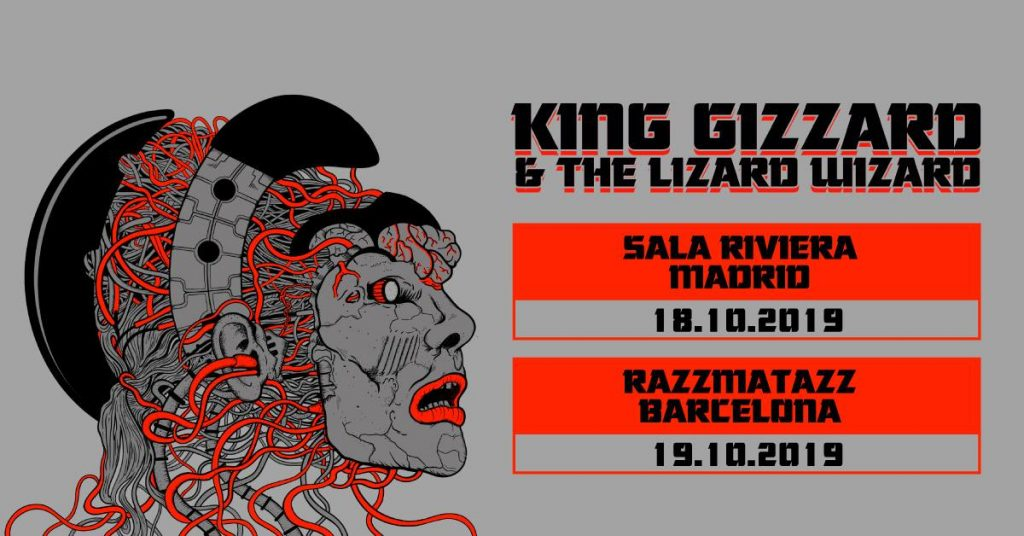 king gizzard and the lizard wizard madrid barcelona la riviera razz