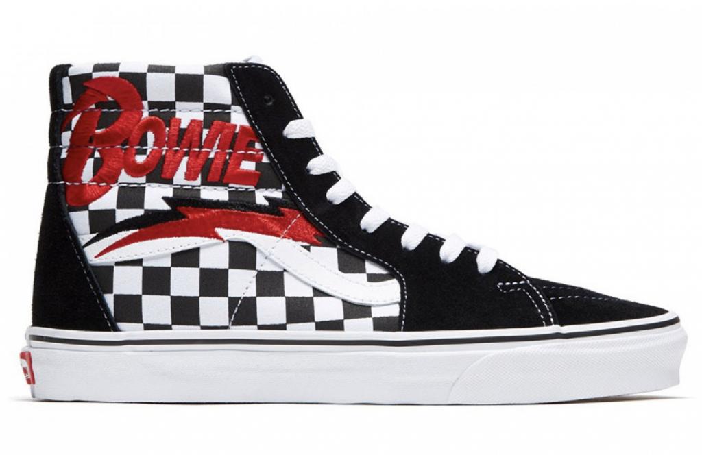 Excelente Marina compensar  Vans lanza una colección de zapatillas inspirada en David Bowie ...