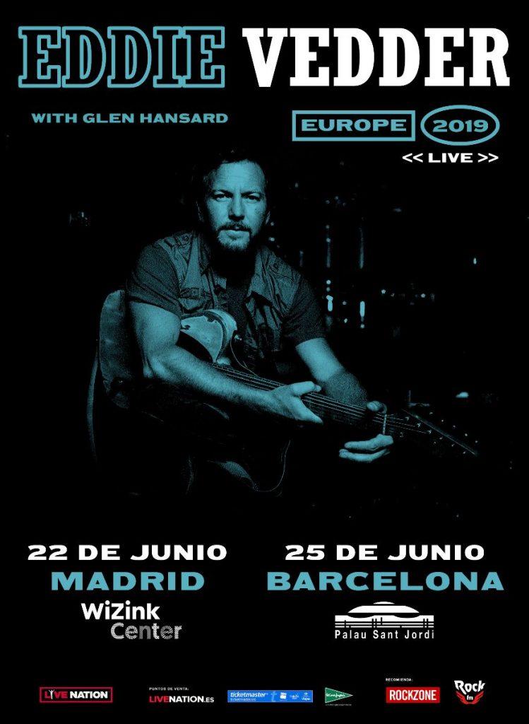 eddie vedder madrid barcelona 2019