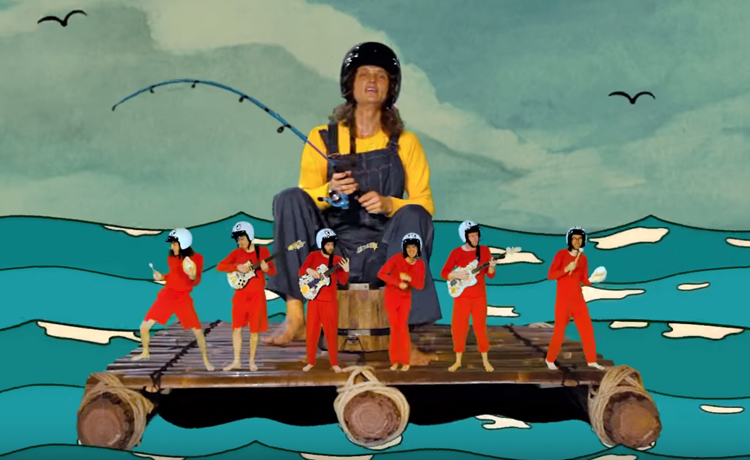 king gizzard and the lizard wizard videoclip fishing for fishies