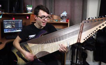 guitarra 20 cuerdas