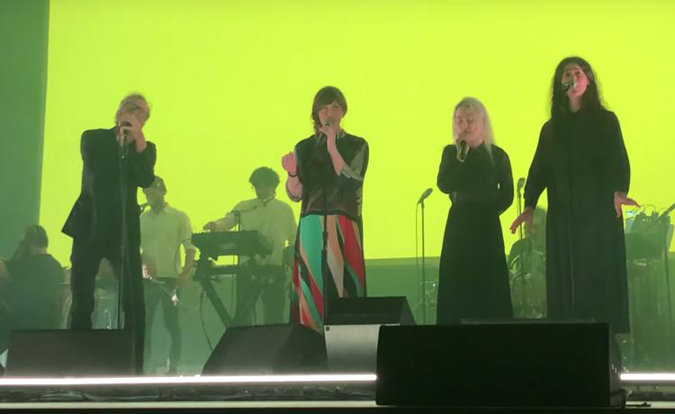 The National interpretan nuevas canciones junto a Feist y Phoebe Bridgers