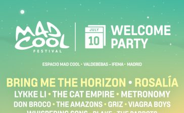 welcome party mad cool 2019