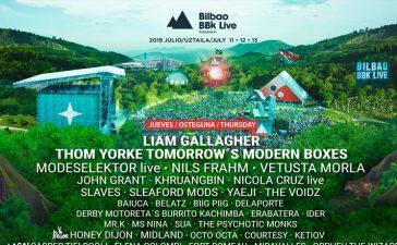 Horarios del Bilbao BBK Live 2019