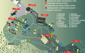 mapa del bilbao bbk live 2019