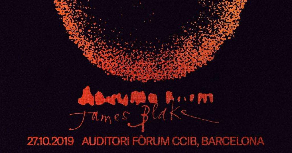 Concierto de James Blake en Barcelona en 2019