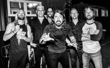 foo fighters arcade fire