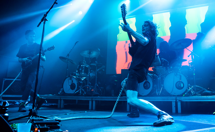 cronica king gizzard and the lizard wizard barcelona