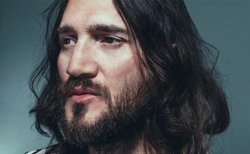 john frusciante look down
