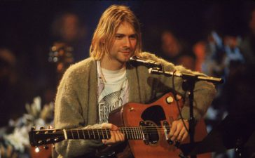 nirvana guitarra mtv unplugged