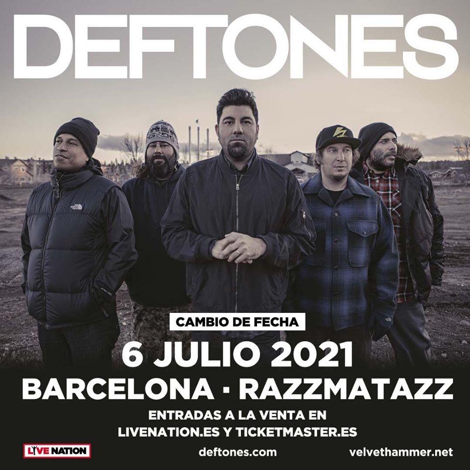 concierto deftones barcelona 2021