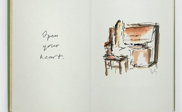 birdy open sketches