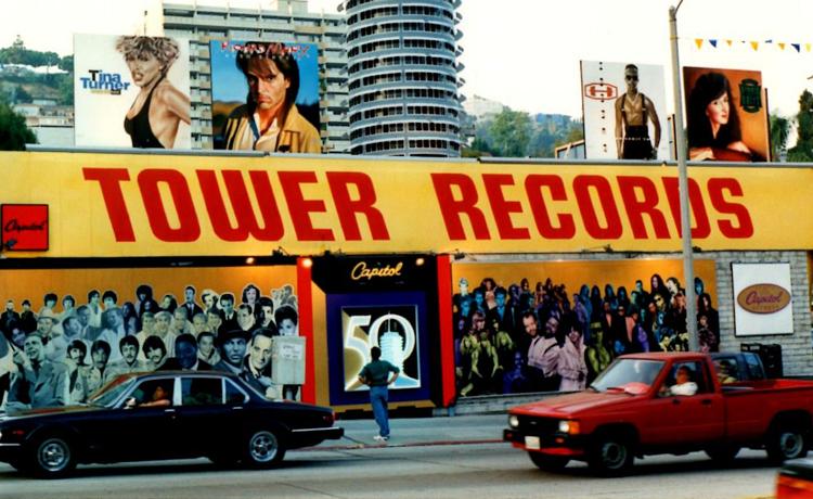tower records tienda online