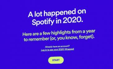 spotify wrapped 2020